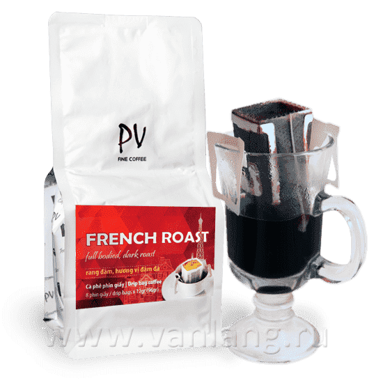 PHUONG Vy - French Roast - 8 дрип-пакетов