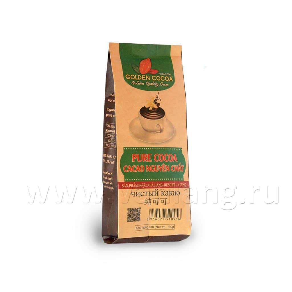HUCAFOOD - Какао (Pure cocoa) 100г