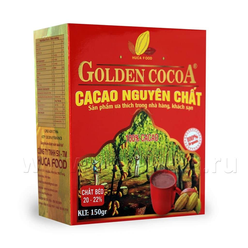 HUCAFOOD - Какао (Pure cocoa) 150г
